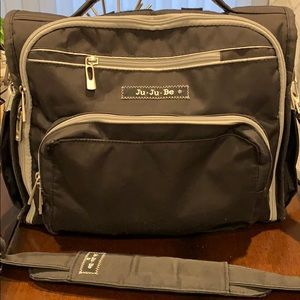 Ju-Ju-Be diaper bag and stroller hooks